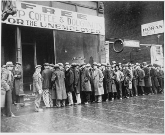 Great Depression, Feeding the Unemploymed